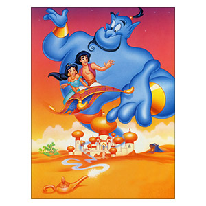 Aladdin. Размер: 30 х 40 см